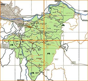 Mappa generale - Bagno a ripoli comune ...