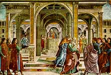 Joachim expelled from the temple